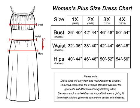 69e80ce1406 Women s Plus Size Ankle Length Maxi Dress with V-Cut Neckline   Back at  Amazon Women s Clothing store
