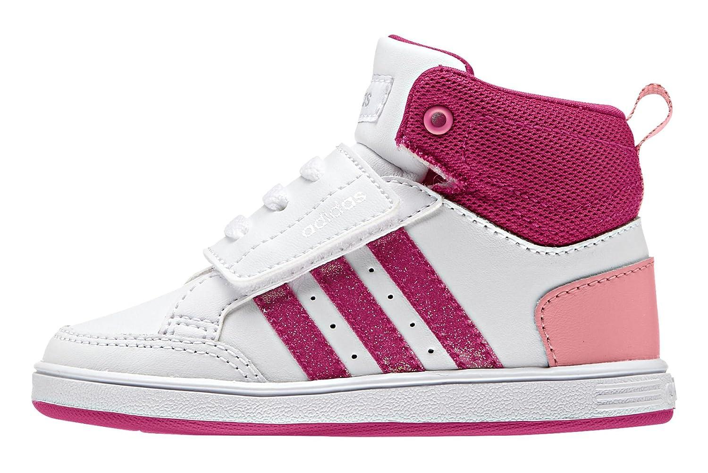 2041381feceae adidas Vlneo Hoops CMF Mid Inf, Girls' Low-Top Sneakers