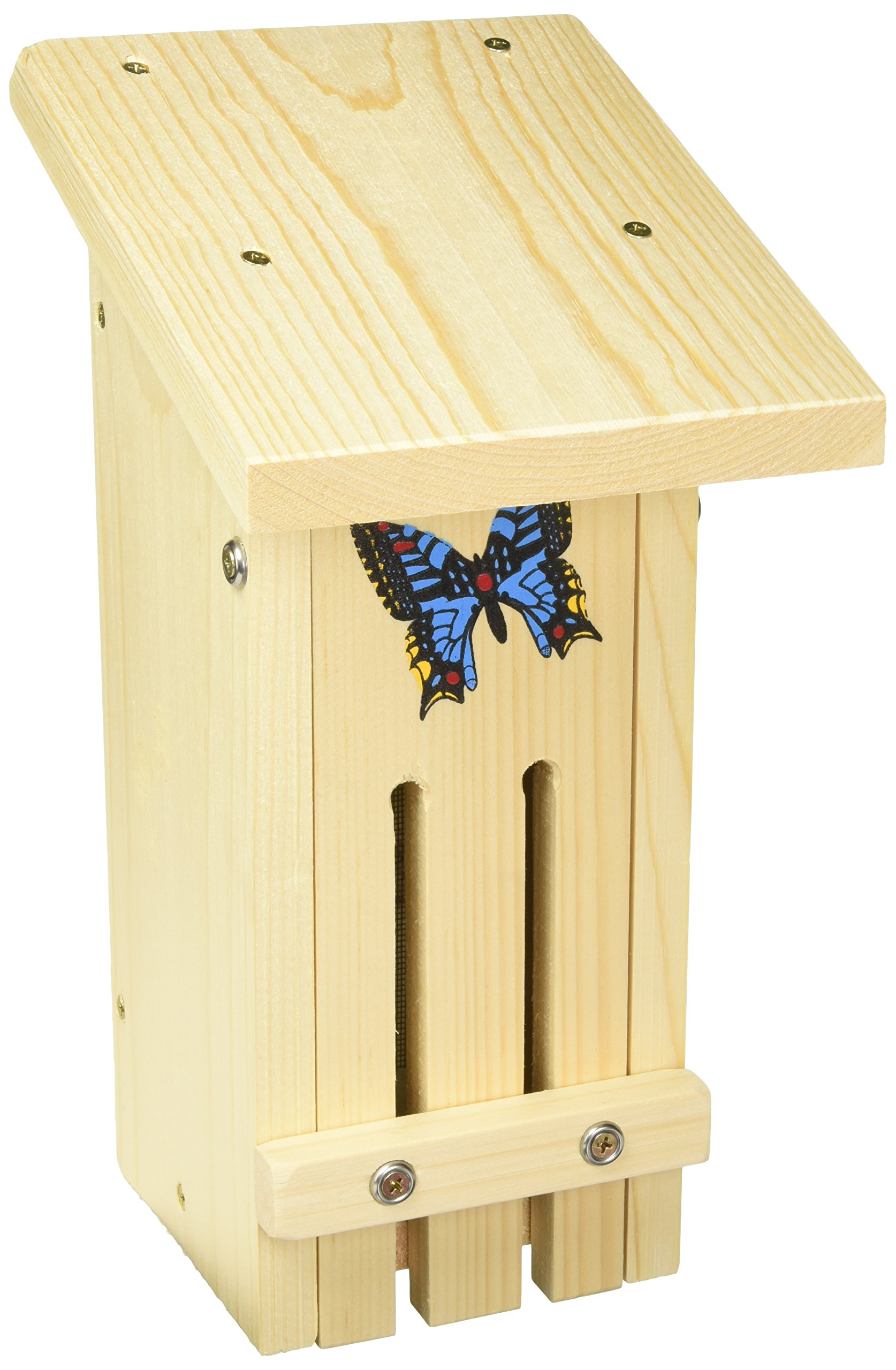 Stovall Products 14H Wood Small Butterfly Habitat by Stovall Products