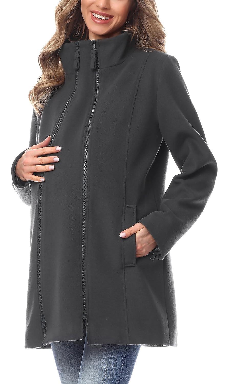 Be Mammy Women's Maternity Coat BE20-174