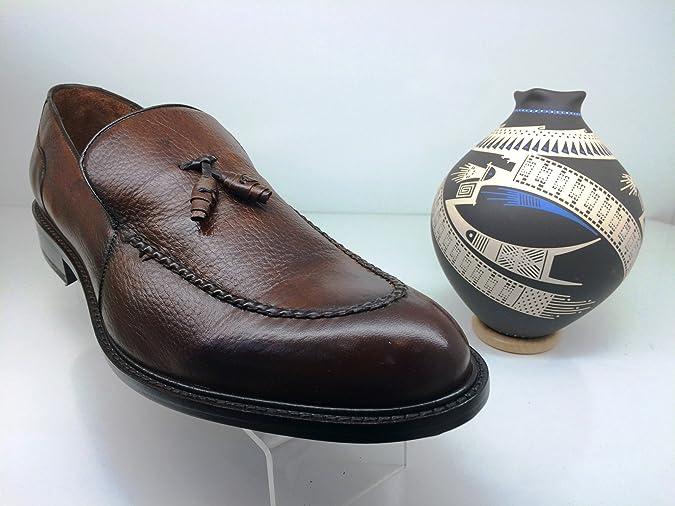 Mocasines de Caballero en Piel de Venado Franco Cuadra F10NPBB: Amazon.es: Zapatos y complementos