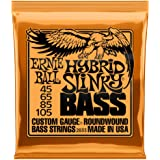 Ernie Ball Hybrid Slinky Nickel Wound Bass Set, .045 - .105