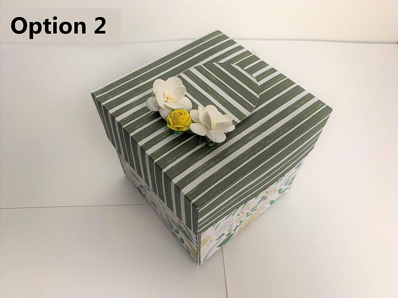 Unique 3D cake Explosion Box for Birthday//Wedding//Anniversary//Congrats