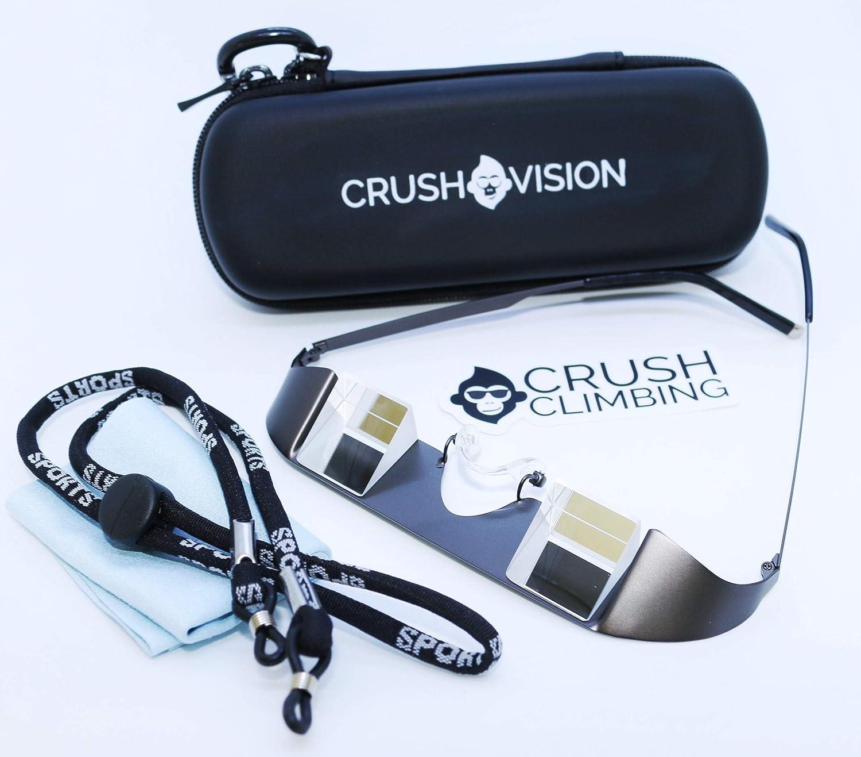 Crush Climbing Crush Vision Belay Glasses Glass Prism Metal Frame Plus Free Training eBook