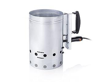 Tristar BQ-2829 Encendedor eléctrico para barbacoas, Metal, Acero Inoxidable, 29.0 x 18.0 x 31.8 cm: Amazon.es: Hogar