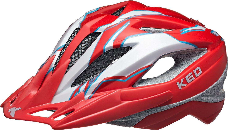 KED Street Pro Helmet Junior ROT Pearl Matt 2018 Fahrradhelm
