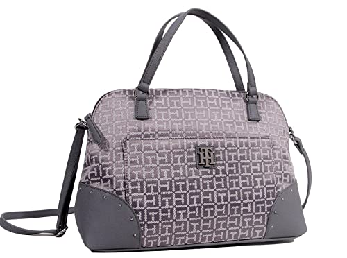 Amazon.com: Tommy Hilfiger Dome Satchel Crossbody Bag Bolso ...