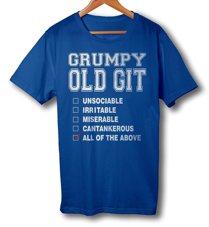 Mojo Kleidung – Grumpy Old Git Checkliste Funny Herren T-Shirt ...