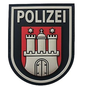 Jackets To Go Jtg ärmelabzeichen Polizei Hamburg Fullcolor 3d