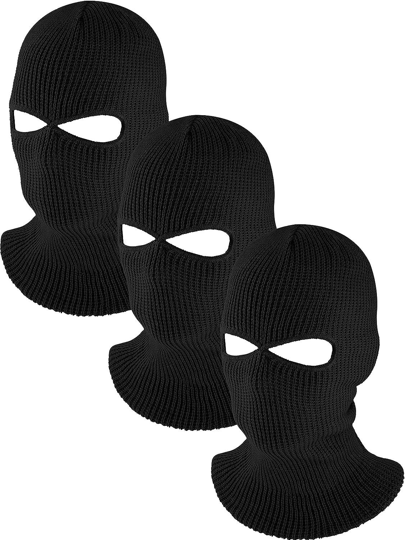 Paq de 6 Pasamontañas Calavera Pasamontanas Militar Mascara Para El Frio de Moto