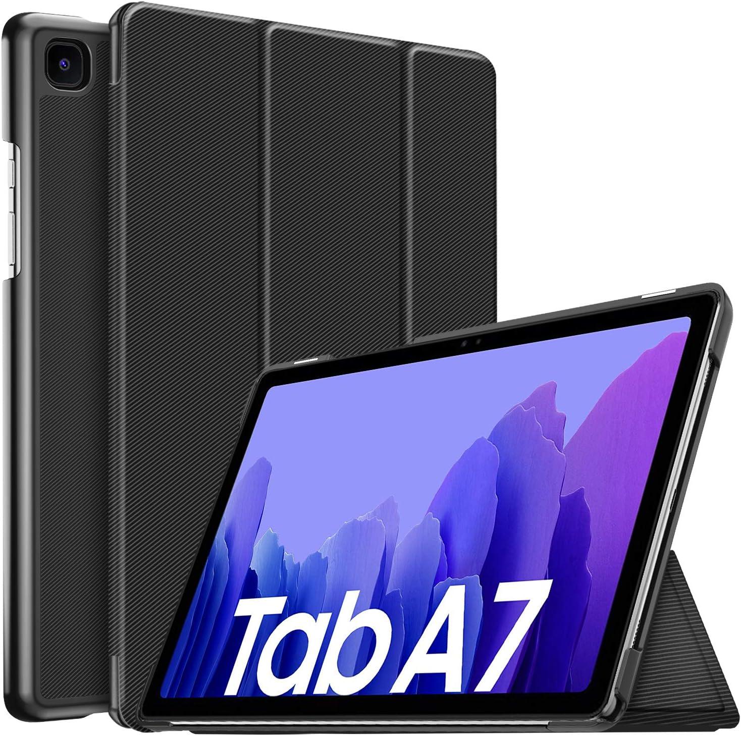 IVSO Funda para Samsung Galaxy Tab A7 10.4 2020, para Samsung Galaxy Tab A7 2020 Funda, Funda Case para Samsung Galaxy Tab A7 T505/T500/T507 10.4 2020, Negro