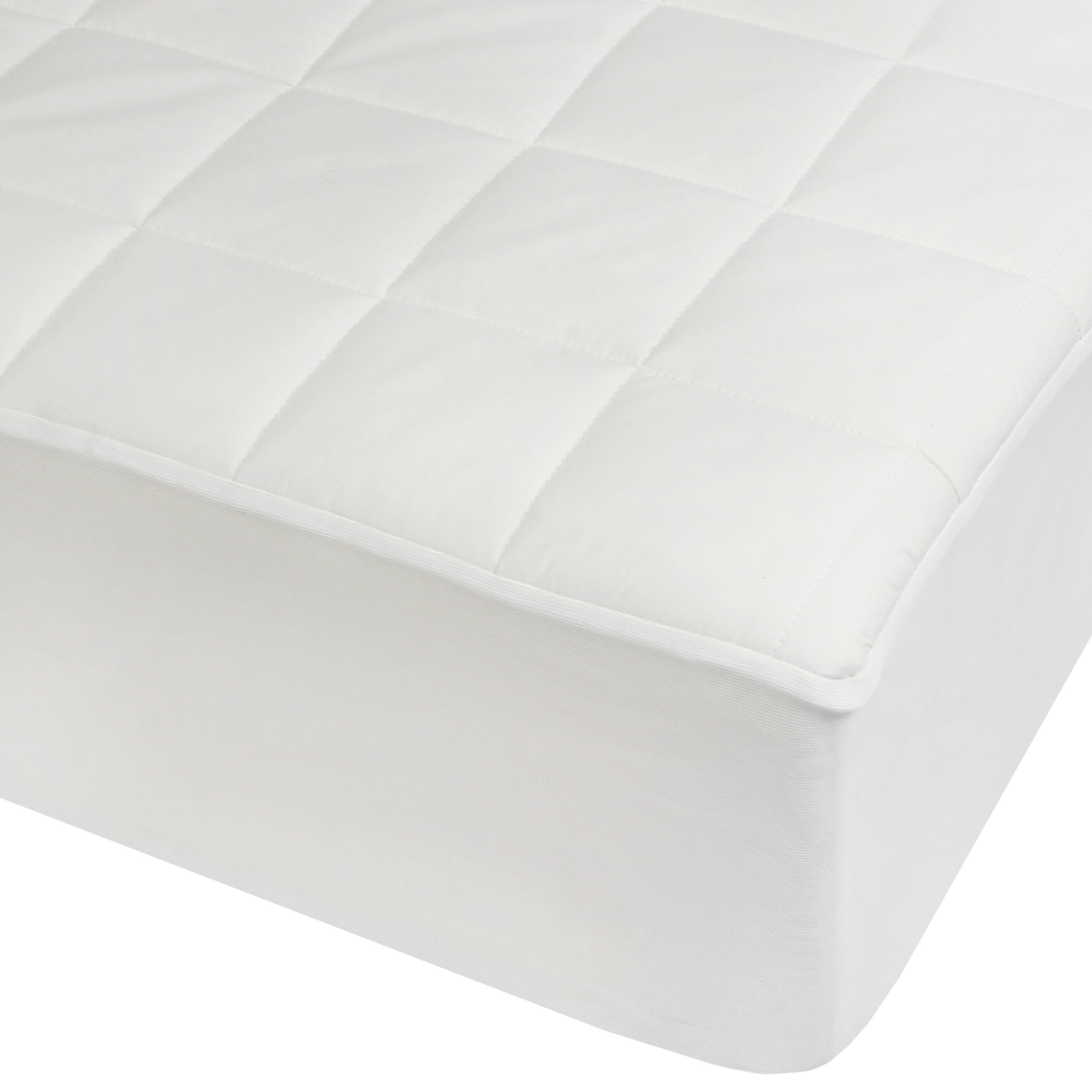 Century Home C413-103 Hotel Collection Premium Quilted Mattress Pad, Queen