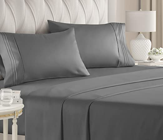 Amazon.com: California King Size Sheet Set   4 Piece   Hotel
