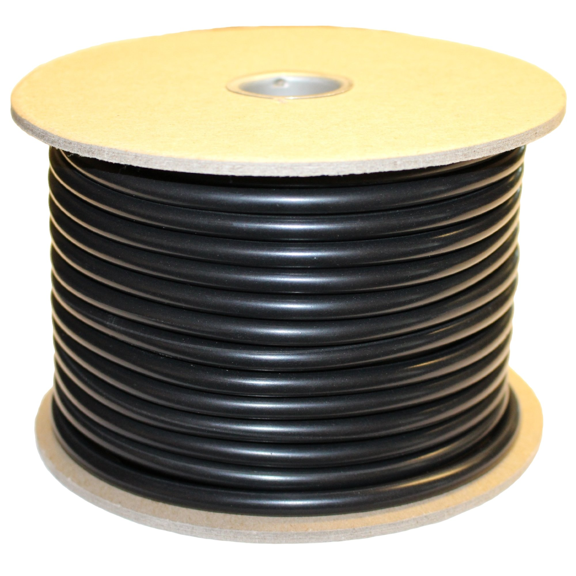 .750'' (3/4'') Buna-N O-Ring Cord Stock, 70A Durometer, 0.750'' Thickness, 100' Spool, Black