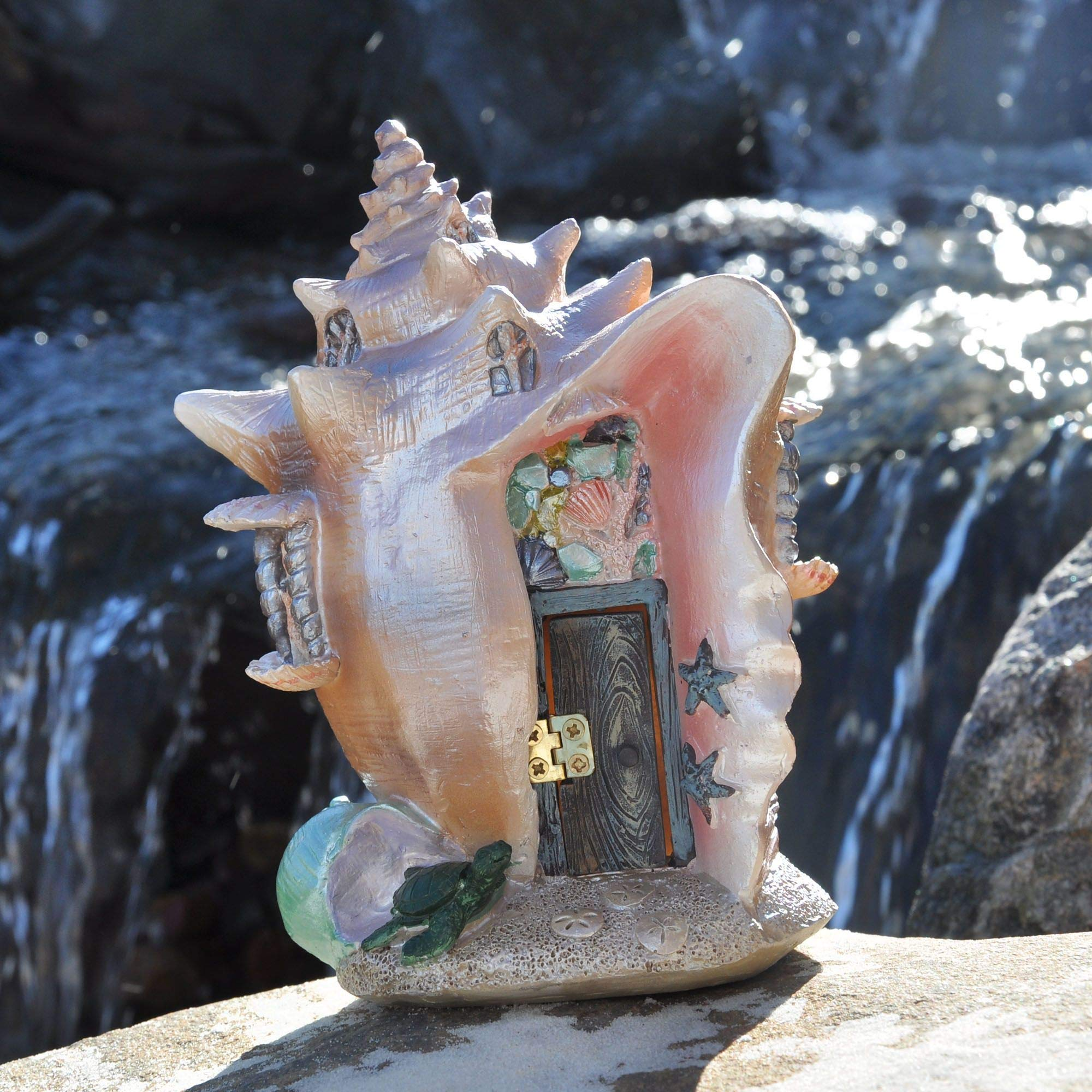 Fiddlehead Fairy Garden Conch Condo Shell Fairy House by Georgetown Home and Garden (Image #2)