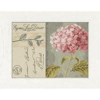 Lanarte–Set Hortensias Cruz, algodón, Multicolor, 28.0x 20.0X 0.30cm