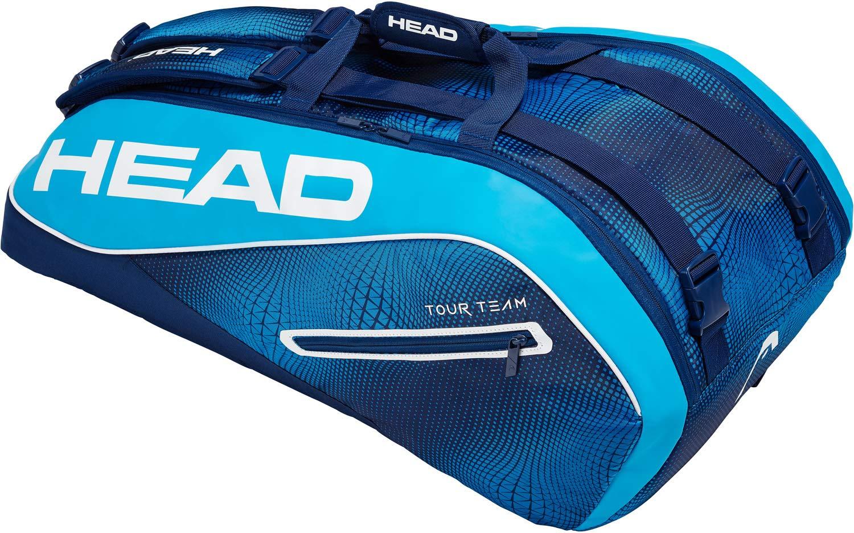 5feed7f174 HEAD Tour Team 9R Supercombi Sac de Raquette de Tennis N/A Black/Silver:  Amazon.fr: Sports et Loisirs