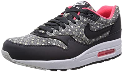 check out bbcae 8a880 Nike Men s Air Max 1 LTR Premium Anthracite Black Granite Running Shoe 8.5  Men