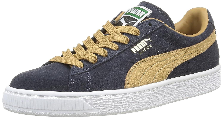 Puma Suede Classic 350734 Herren Sneaker  37 EU|Bleu (New Navy/Apple Cinnamon)