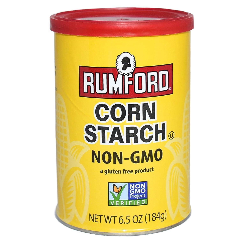 Rumford Non-Gmo Corn Starch, 6.5 Ounce