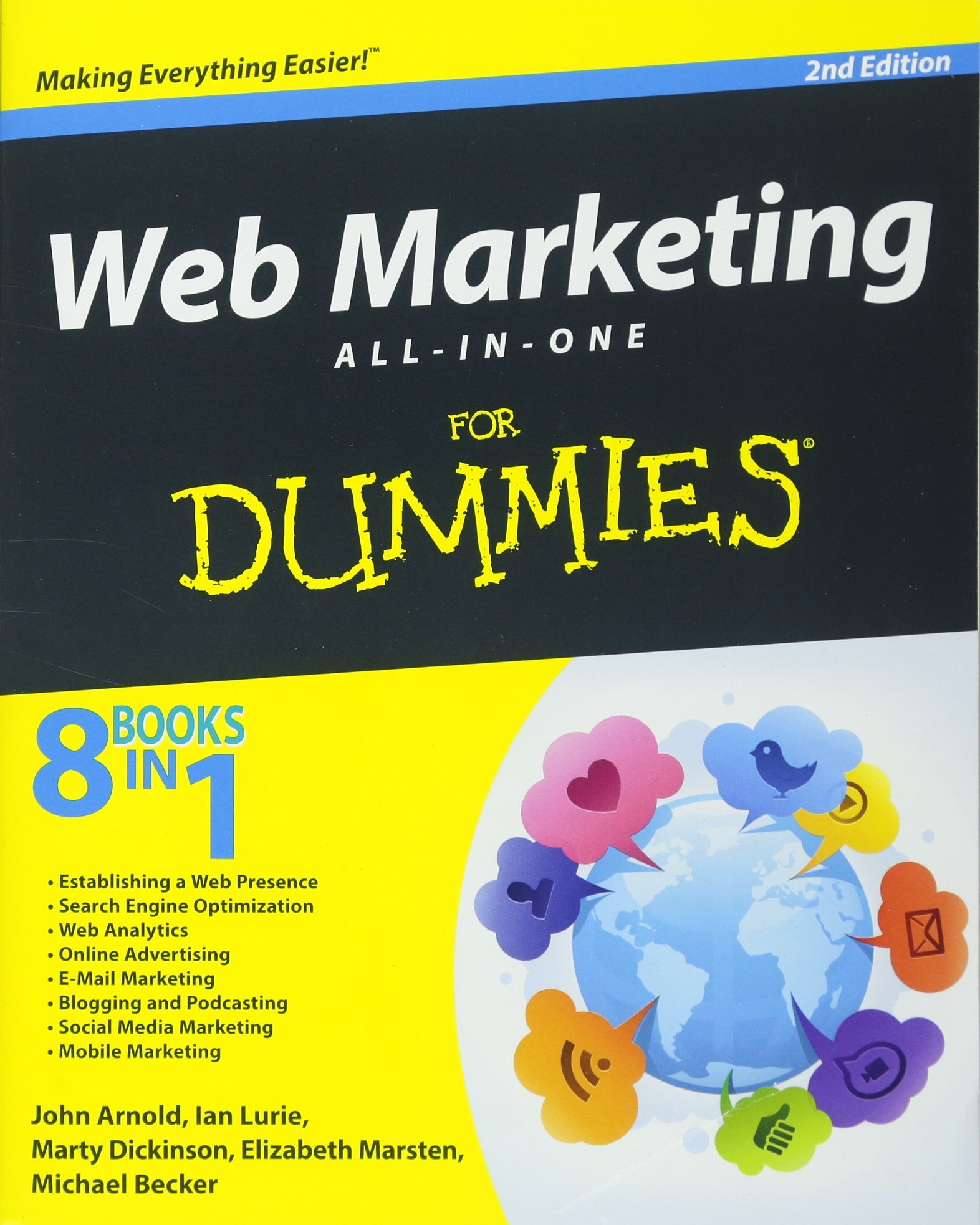 Web Marketing All One Dummies product image