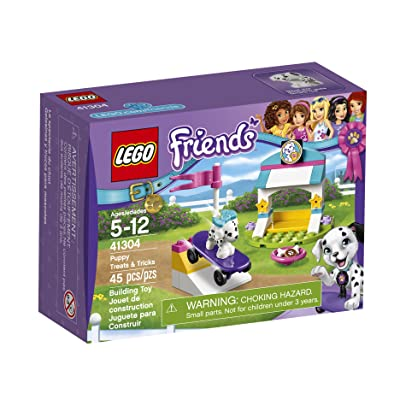 Lego Friends Puppy Treats & Tricks 41304 Building Kit: Toys & Games