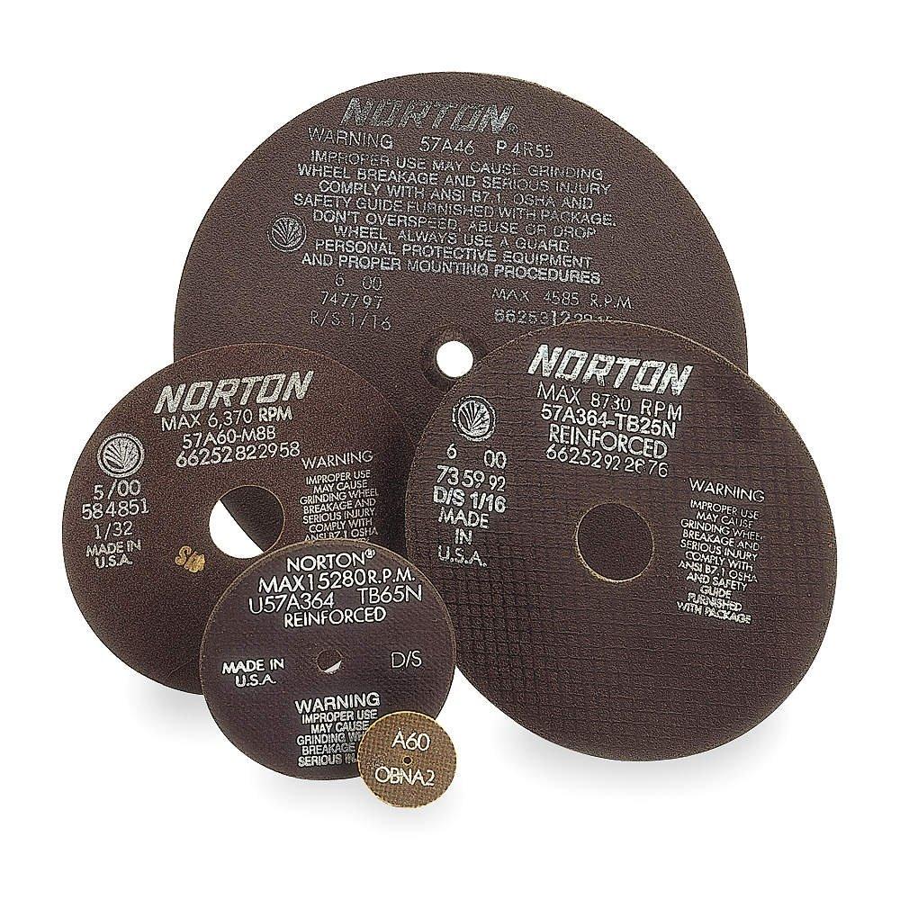 Cutoff Wheel 57A60-M8BW 10 x.090 x5/8
