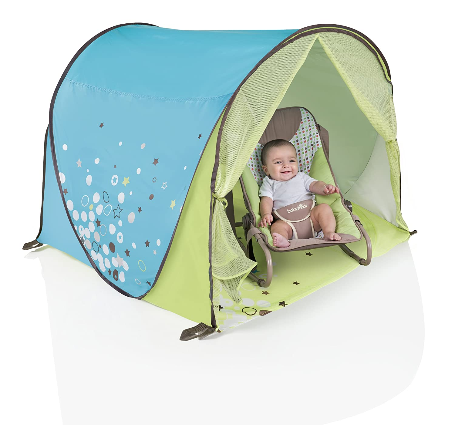Amazon.com Babymoov Anti-UV Tent - UPF 50+ Sun Shelter for Toddlers and Children easily folds into a Carrying Bag for Outdoors u0026 Beach Baby  sc 1 st  Amazon.com : baby shade tent uv protection - memphite.com