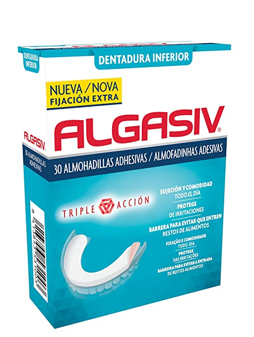 5 opinioni per Algasiv cuscinetti adesivas inferiore- 30 pezzi
