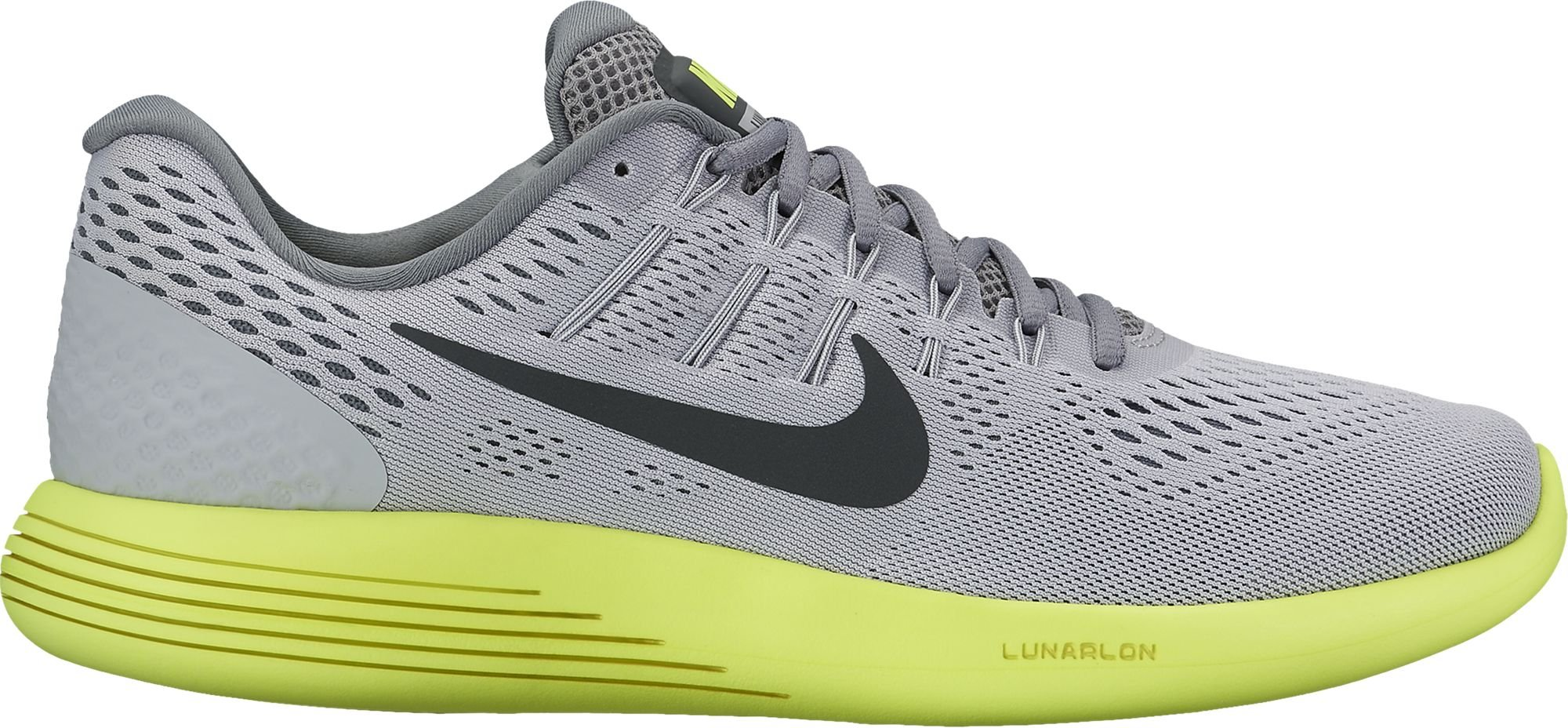 new product 8e725 9ce3f Galleon - Nike Mens LunarGlide 8 Running Shoe Wolf  Grey Anthracite Volt Cool Grey Size 9 M US