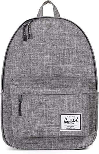 Herschel 10492-00919-OS Classic X-Large Unisex Casual Daypacks Backpack - Raven Crosshatch