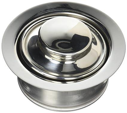 waste king decorative garbage disposal 3 bolt mount sink flange and stopper chrome - Sink Flange