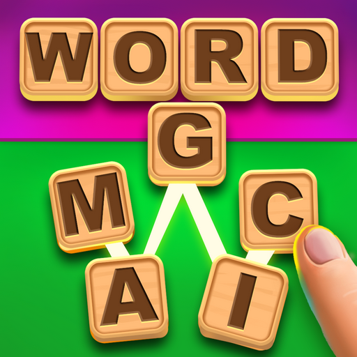 Jewel Magic - Magic Words: Free Word Spelling Puzzle
