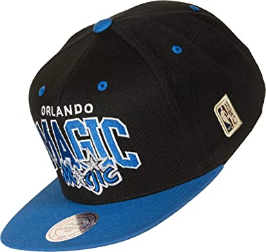 Mitchell & Ness Gorras Orlando Magic Team Arch Black/Blue Snapback ...