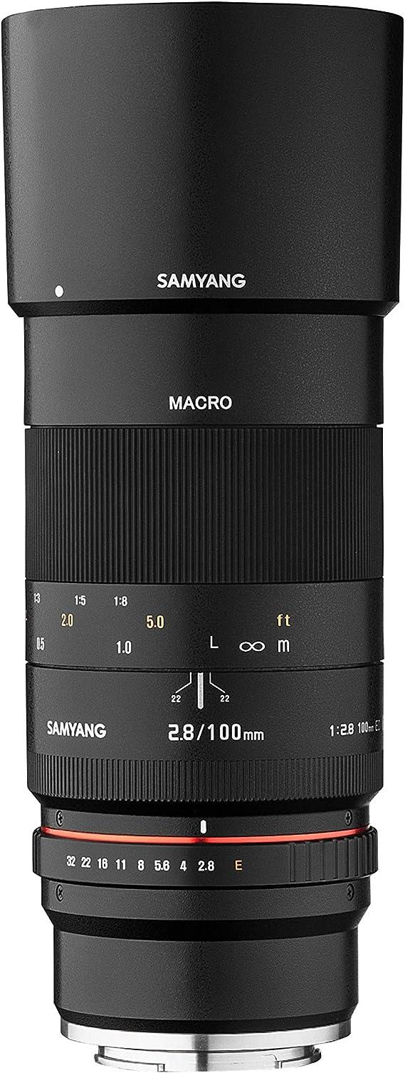 Samyang 100mm F2 8 Makro Für Fuji X Aps C Macro Kamera