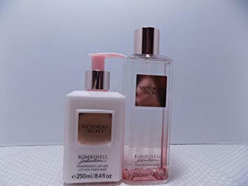f10fbd76c8 Amazon.com   Victoria Secret Bombshell Seduction 2 Pc Set - 1 8.4 oz  Scented Body Lotion and 1-8.4 oz Scented Fragrance Mist   Beauty