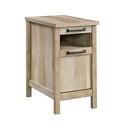 amazon com sauder side table lintel oak kitchen dining rh amazon com kitchen side table with wine rack kitchen side tables carts