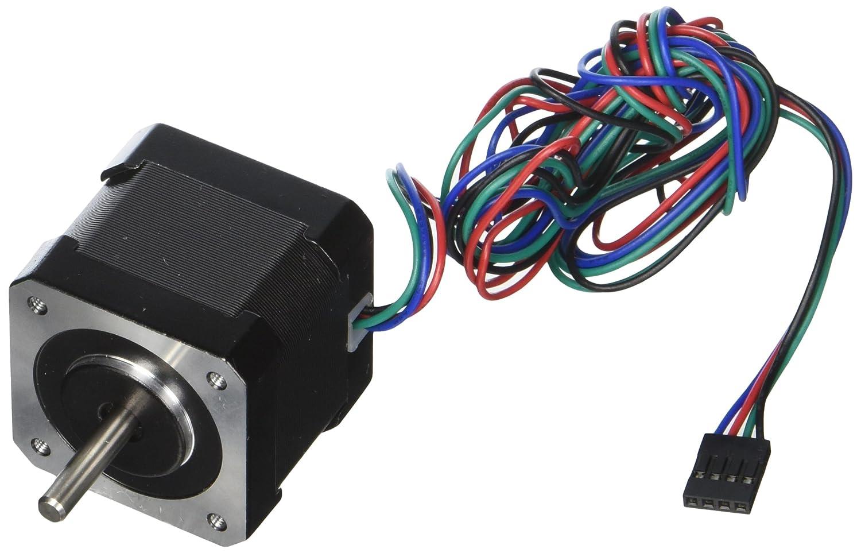 STEPPERONLINE 5PCS Nema17 Stepper Motor 2A 64oz.in 40mm Body 4-lead 1m Cable W/Connector DIY CNC
