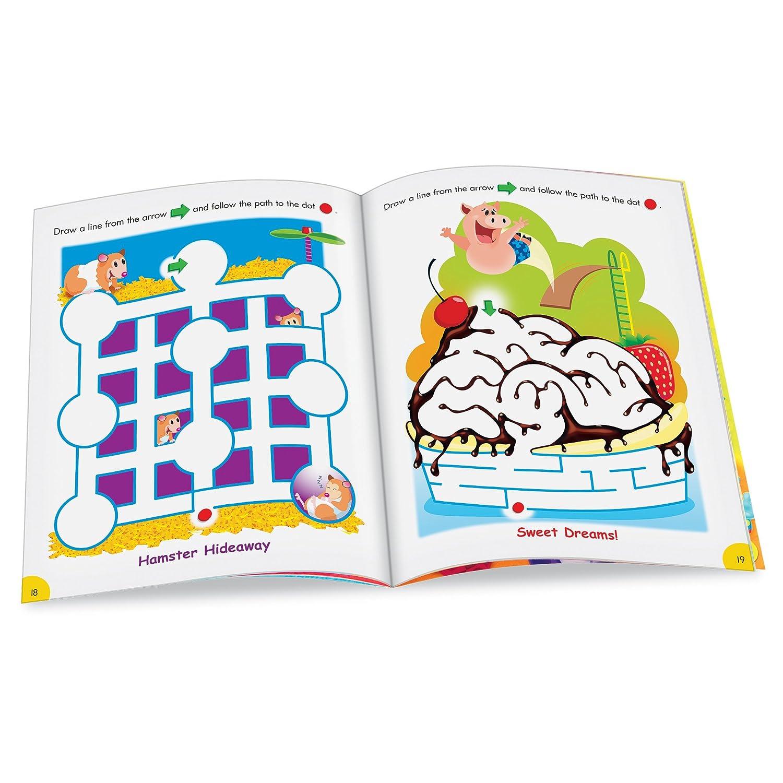 amazon com trend enterprises fun with mazes wipe off book toys