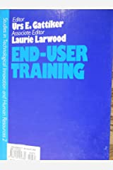 End-user Training (Technological Innovation & Human Resources) Hardcover