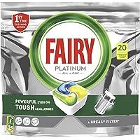 Fairy Platinum Dishwasher Tablets, 20 Tablets