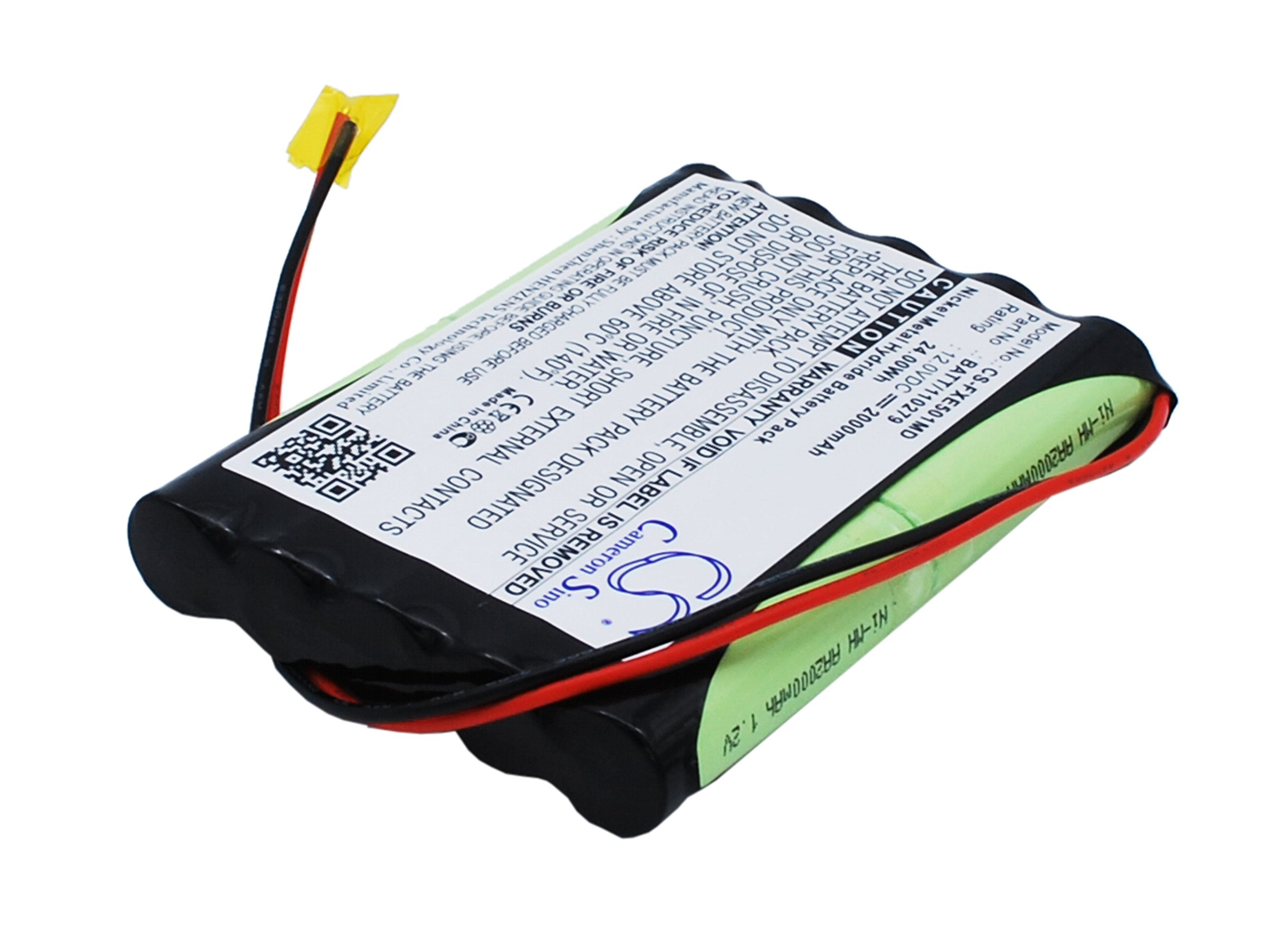 C & S 2000mAh 120279, BATT/110279 Battery FUKUDA Cardisuny ME501BX ECG Analyzer