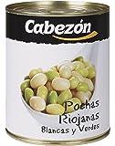 Conservas Cabezn Lata de Pochas Riojanas - 800 gr - [Pack de 6]