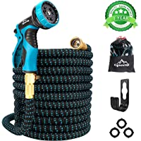 Gpeng Garden Hose Expandable Water Hose, Leakproof Lightweight Retractable Collapsible Hose with 9 Function Spray Hose…