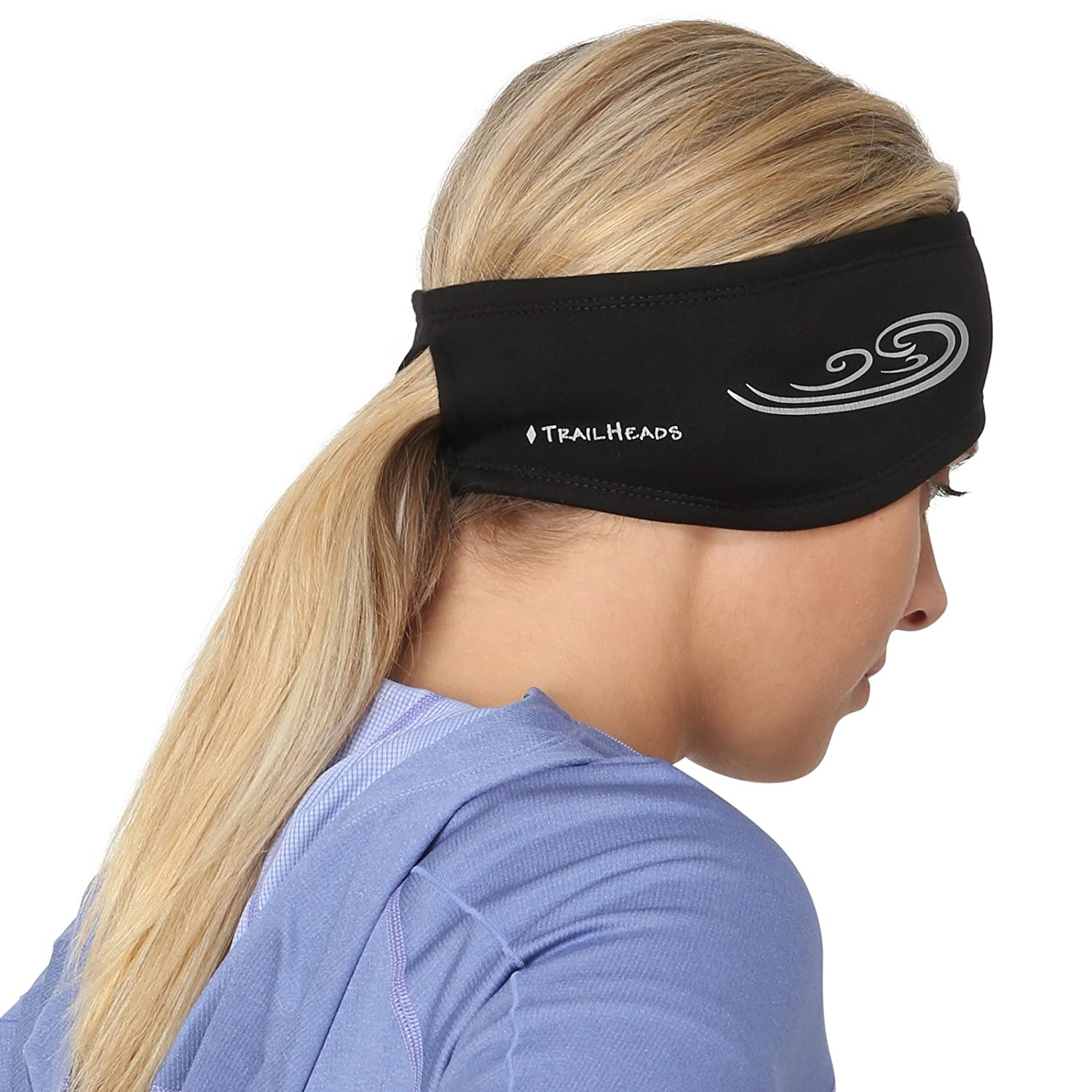 TrailHeads Women's Power Ponytail Headband Black/Reflective Silver made our list of gifts for active women so if you want unique camping gifts for her, you'll find tons of them in our hand-selected list of gift ideas for women who hike, fish and camp!