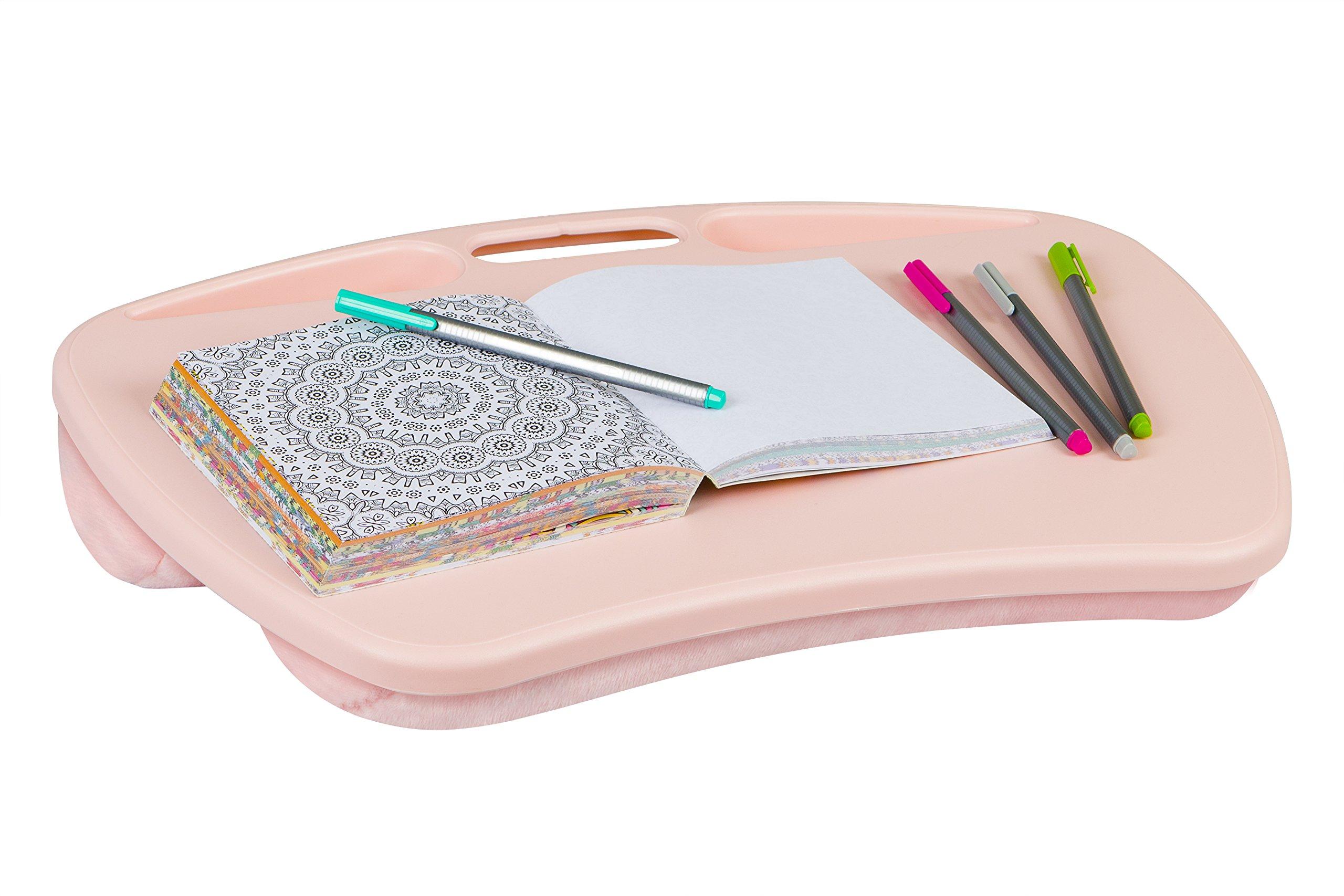 LapGear MyDesk Lap Desk - Rose Quartz (Fits up to 15'' Laptop)