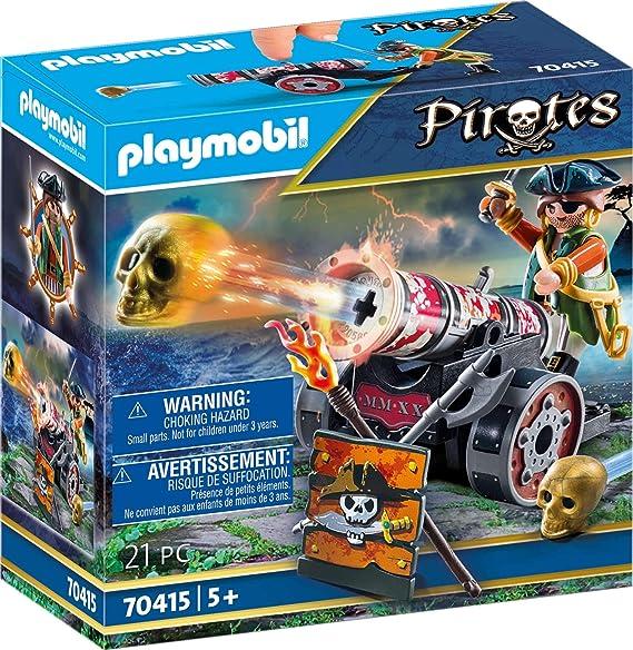 PLAYMOBIL-Pirata con cañón (70415)