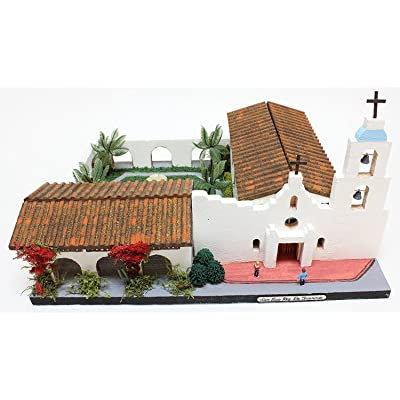 California Mission Model Kit SAN LUIS REY DE FRANCIA: Arts, Crafts & Sewing