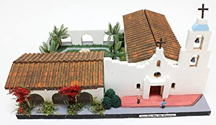 California Mission Model Kit SAN LUIS REY DE FRANCIA