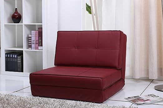 Artdeko - Sillón cama (piel sintética): Amazon.es: Hogar